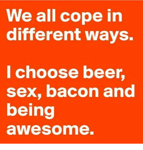 Beer and sex