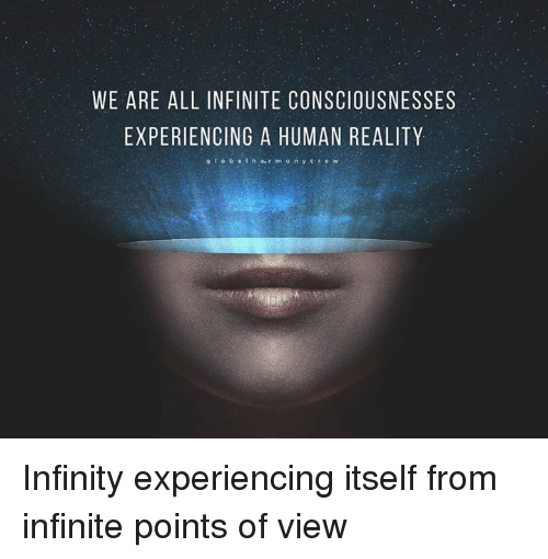 Accessing Your Wider State Of Infinite Consciousness.