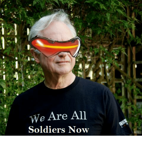 Soldiers, Dank Memes, and We Are All: We Are All  Soldiers Now