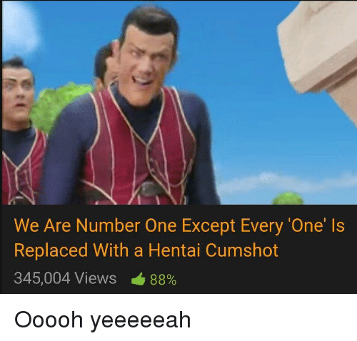 we are number one hentai
