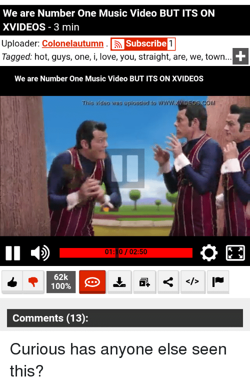 We Are Number One Music Video But Its On Xvideos 3 Min Uploader