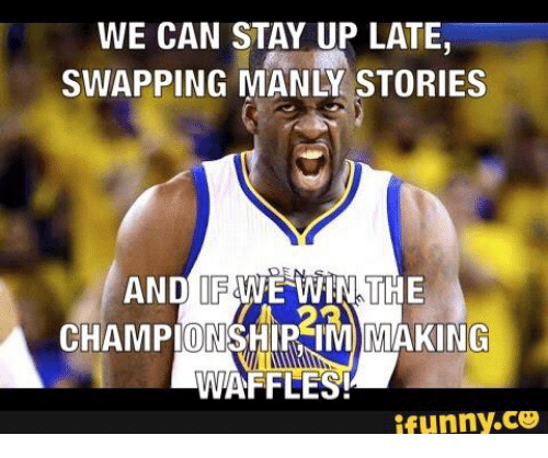 we can stay up late swapping manly stories and if 14749350 ✅ 25 best memes about draymond green and donkey draymond green,Donkey Waffles Meme