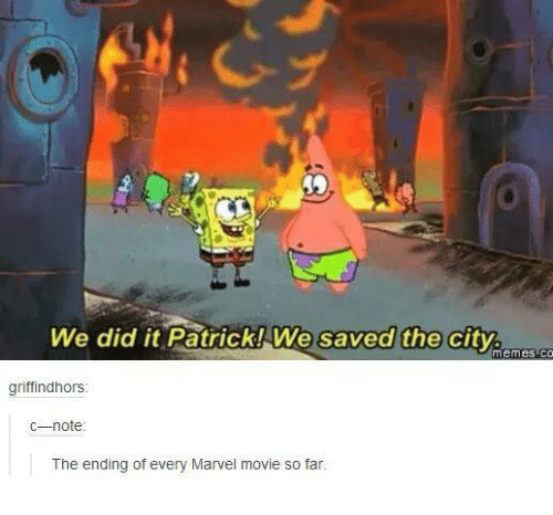 we did it patrick we saved the city memes co 1982346 ✅ 25 best memes about we did it patrick we saved the city we
