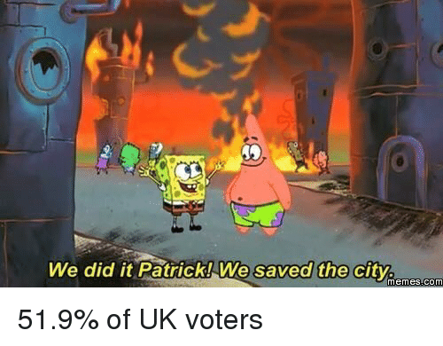 We Did It Patrick