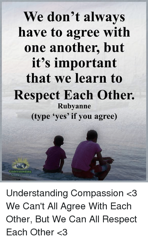 why is it important to have respect