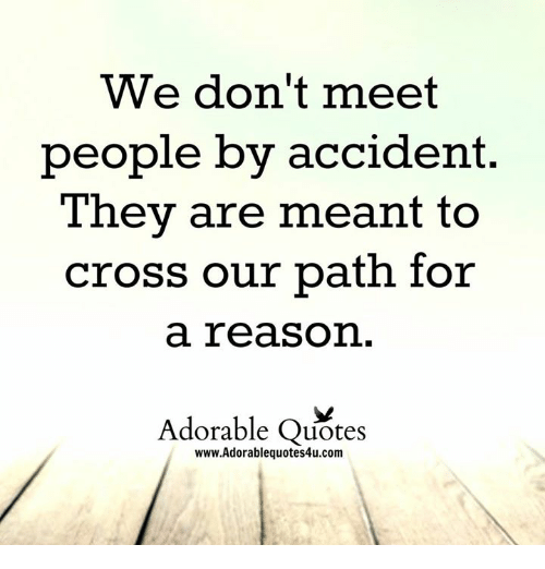 Meeting people quotes