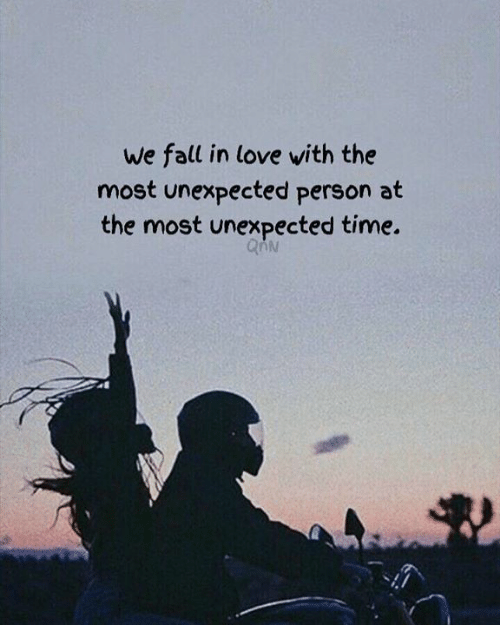 Fall, Love, and Time: We fall in love with the  most unexpected person at  the most unexpected time.  48
