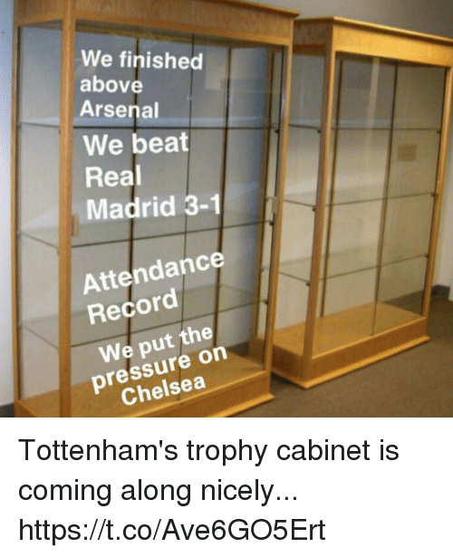 Arsenal Chelsea And Pressure We Finished Above Beat Real Madrid 3