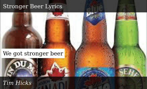 The World S Strongest Beers Cool Material