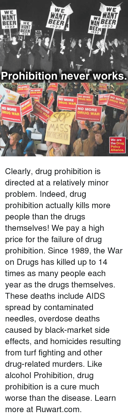 drug prohibition an economic problem Drugs, violence and economics one point on which almost everyone interested in drug prohibition agrees is the the problem is the central economic.