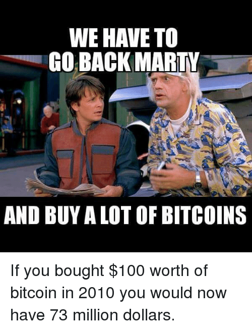 Anaconda Memes And Bitcoin WE HAVE TO GO BACK MARTY AND BUY A