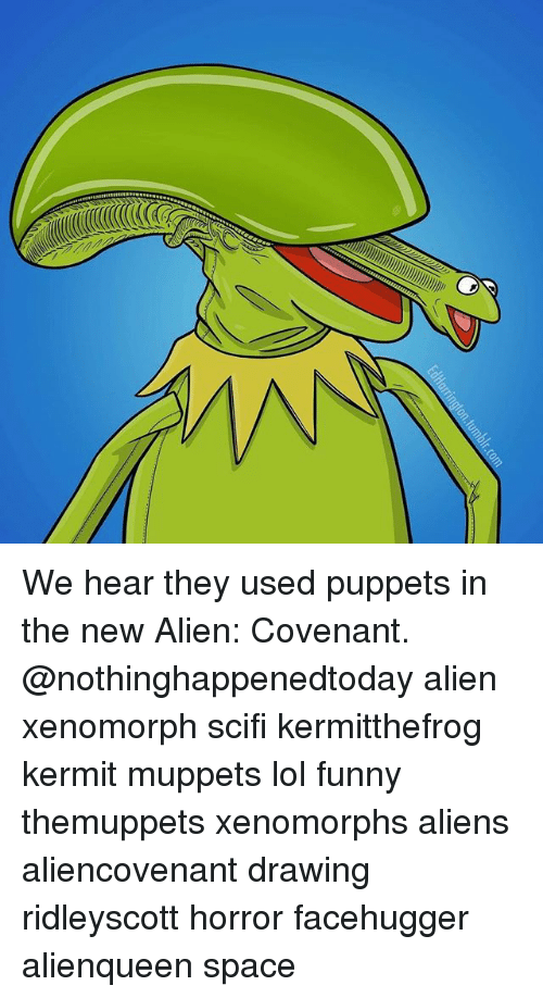 Funny Lol And Memes We Hear They Used Puppets In The New Alien