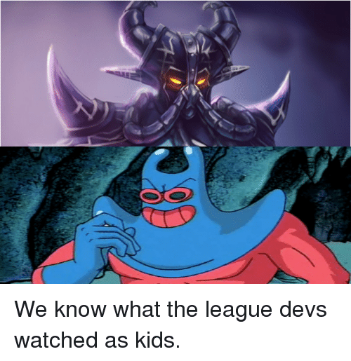 League of Legends, Kids, and The League