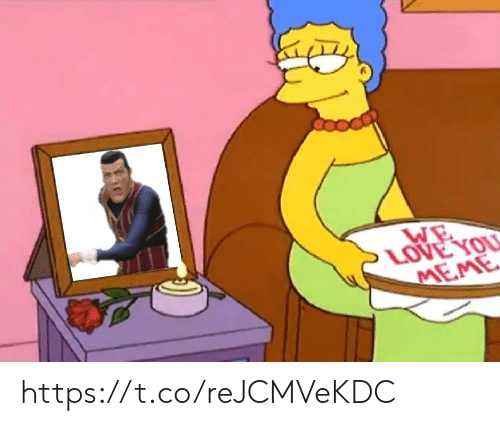 Love, Meme, and You: WE  LOVE YOU  MEME https://t.co/reJCMVeKDC