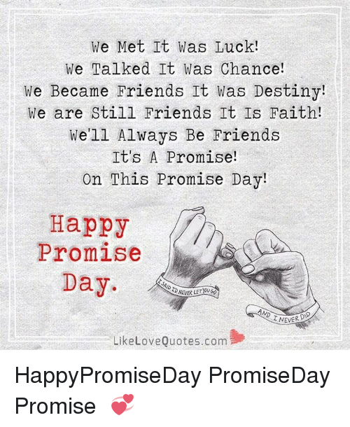 Happy Promise Day Quotes For Friends: 25+ Best Memes About Happy Promise Day