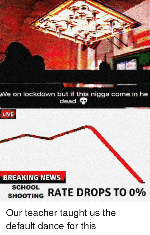 We on Lockdown but if This Nigga Come in He Dead LIVE