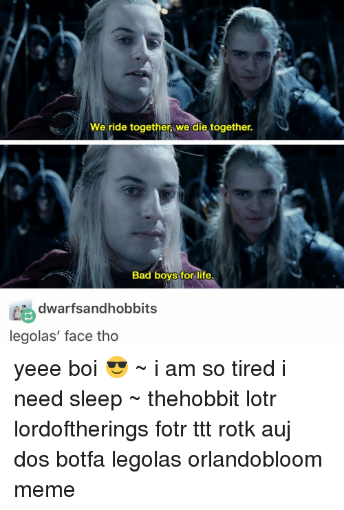 we ride together we die together bad boys for life 10671217 ✅ 25 best memes about legolas what do your elf eyes see
