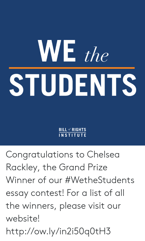 We The Students – Video Contest