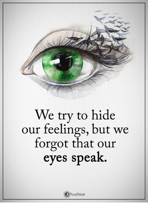 should we hide our emotion We are all human and teaching our kids that we are always in control is teaching them that they too must always be in control of their emotions--in other words, bury, deny, and hide, never show .