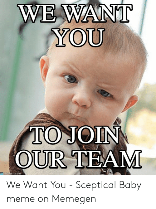 WE WANT YOU TO JOIN OUR TEAM Gencom We Want You ...