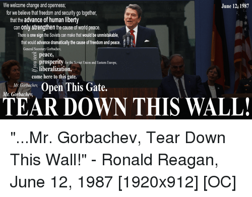 25+ Best Memes About Mr Gorbachev Tear Down This Wall | Mr ...