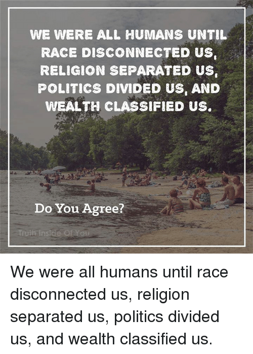 religion should be separated from politics