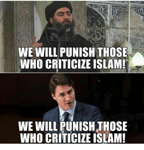 Islam, Who, and Will: WE WILL PUNISH THOSE  WHO CRITICIZE ISLAM!  WE WILL PUNISH THOSE  WHO CRITICIZE ISLAM