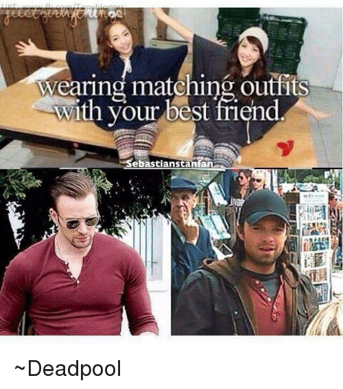 Wearing Matching Outfits With Your Best Friend Deadpool Best