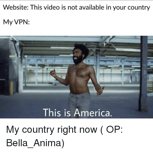 Website This Video Is Not Available in Your Country My VPN