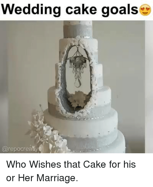 Wedding Cake Goals Who Wishes That Cake For His Or Her Marriage