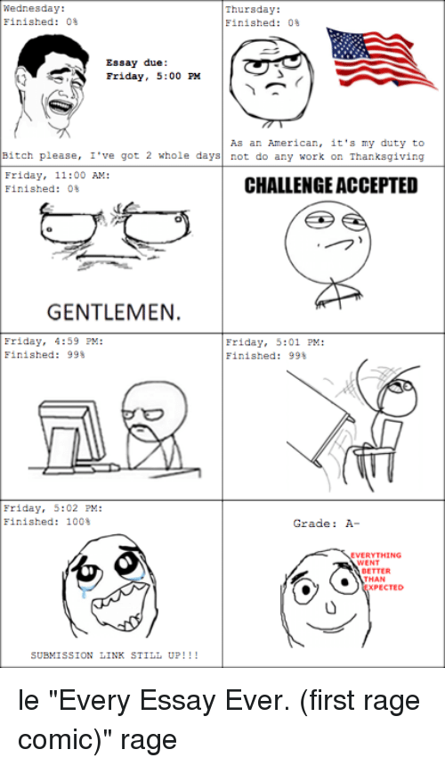 rage comics essay Essay memes updated daily, for more funny memes check our homepage.
