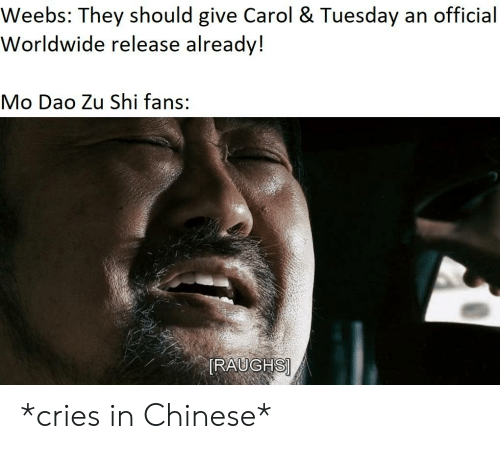 Weebs They Should Give Carol & Tuesday an Official Worldwide