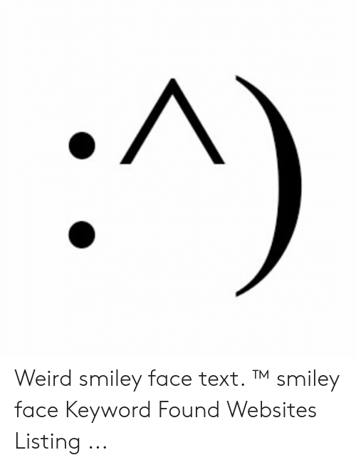 Weird Faces With Text 10
