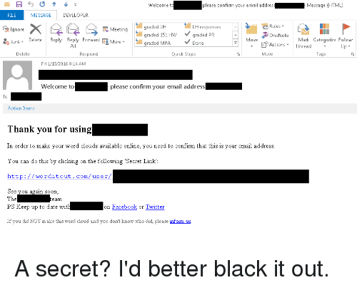 dating reply email
