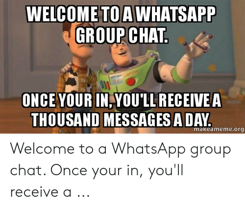 Welcome To The Whatsapp Group