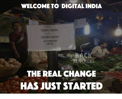 welcome to digital india debit cards credit cards accepted the 6866197 ✅ 25 best memes about credit card credit card memes,Credit Or Debit Meme