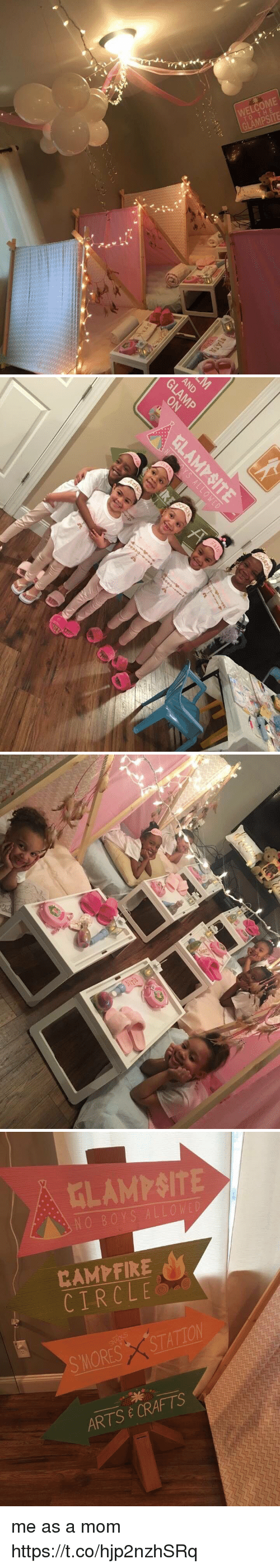 Girl Memes, Mom, and Arts: WELCOME  TO THE  GLAMPSITE   AND   CIRCLE  X STATION  SMORES CRAFTS  E ARTS me as a mom https://t.co/hjp2nzhSRq