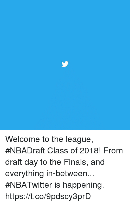 Sizzle: Welcome to the league, #NBADraft Class of 2018!  From draft day to the Finals, and everything in-between...   #NBATwitter is happening. https://t.co/9pdscy3prD