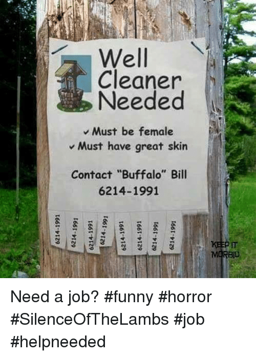 well cleaner needed must be female v must have great 22904646 ✅ 25 best memes about funny horror funny horror memes