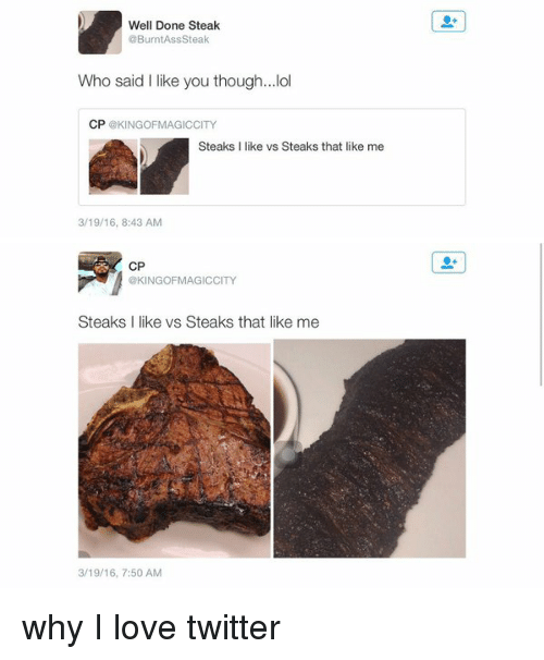 well done steak