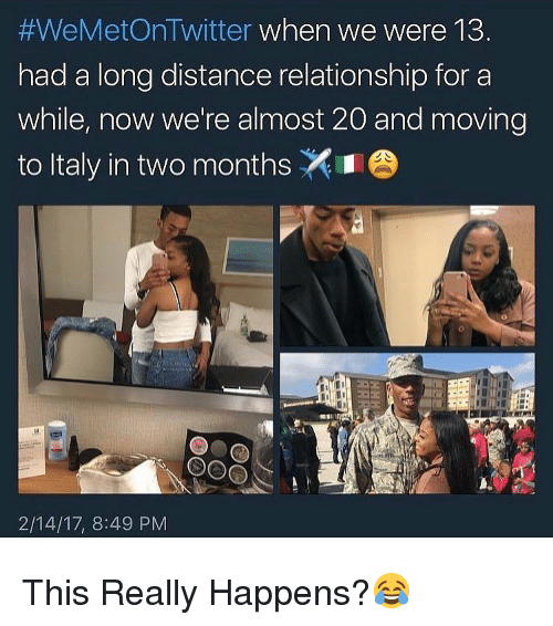 Moving in with long distance boyfriend