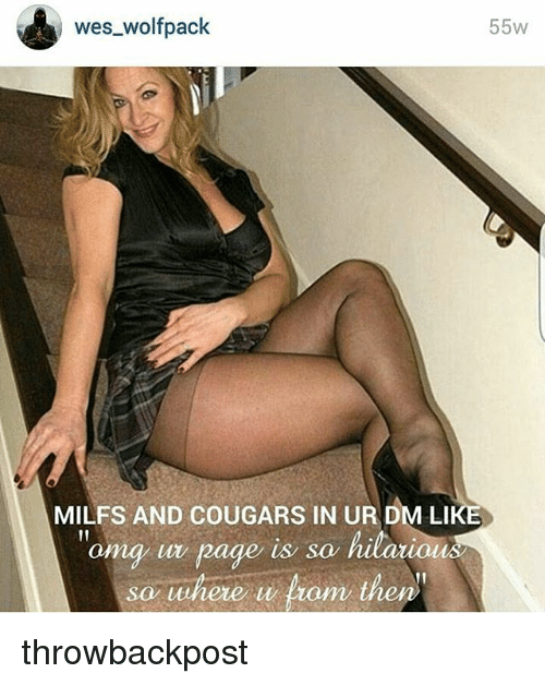 Milfs and cougars