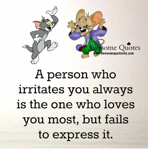 Wesome Quotes Wesomequotes4ucom A Person Who Irritates You Always Is