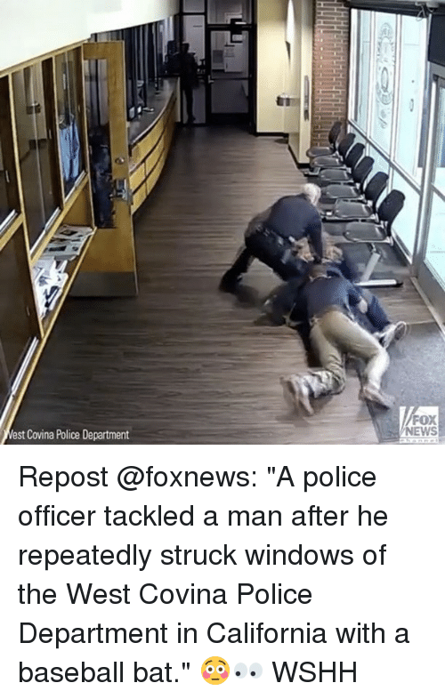 West Covina Police Department FOX NEWS Repost a Police Officer