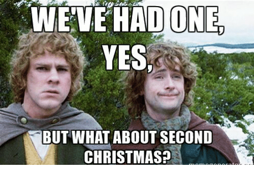 ✅ 25+ Best Memes About Second Christmas | Second Christmas Memes