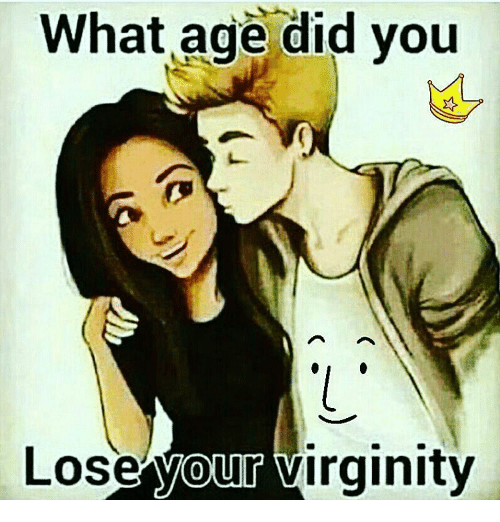 Age you lost your virginity