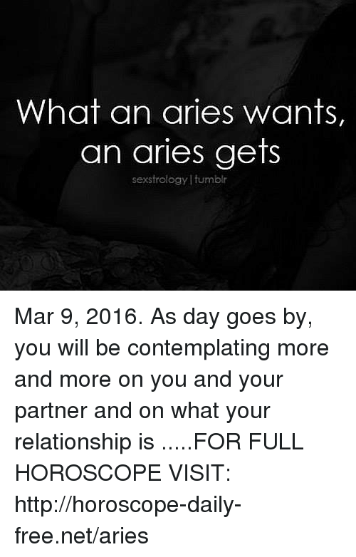 horoscope march 9 aries or aries