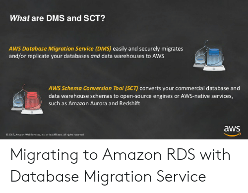 What Are DMS and SCT? AWS Database Migration Service DMS