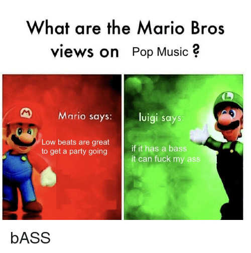 Are ass dumb luigi something is