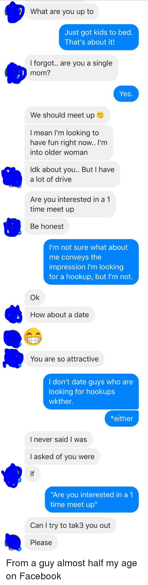 Single and not interested in hookup
